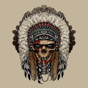 Cherokee indien natif