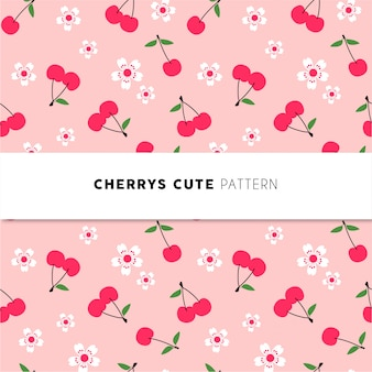 Cherry pattern mignon