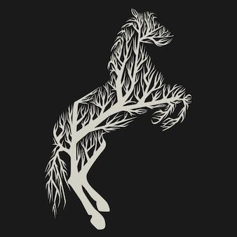 Cheval d'arbre