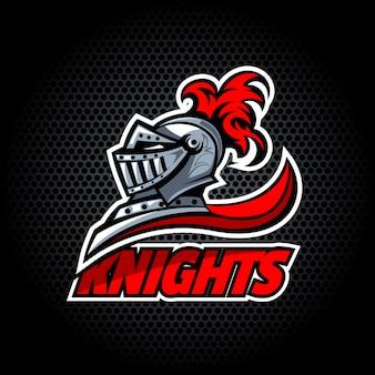 Les chevaliers offrent le logo.