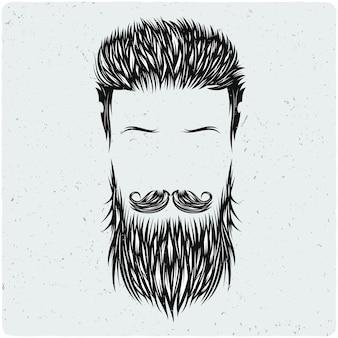 Cheveux, moustache, barbe