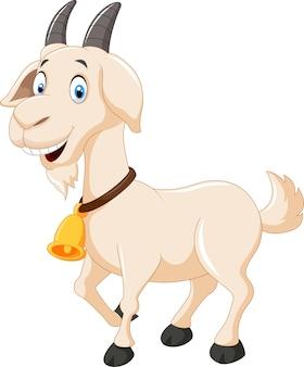 Chèvre de dessin animé mignon