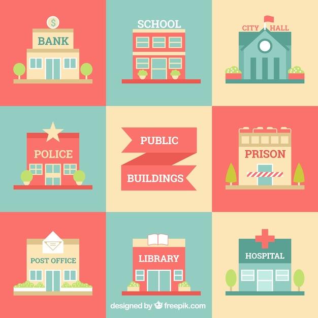 Chic bâtiments de la ville