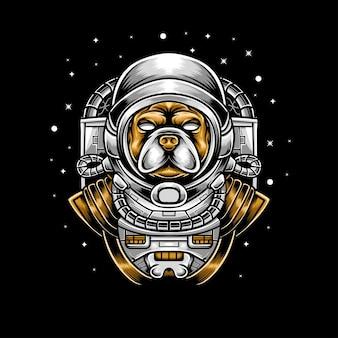Chien astronout