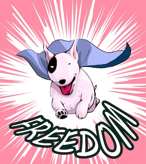 Chien liberté