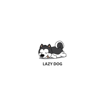 Chien paresseux