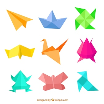 Chiffres origami