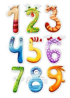 Des chiffres pour les enfants