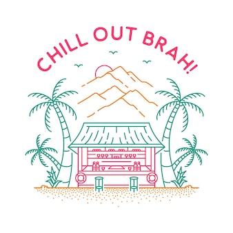 Chill out brah deux