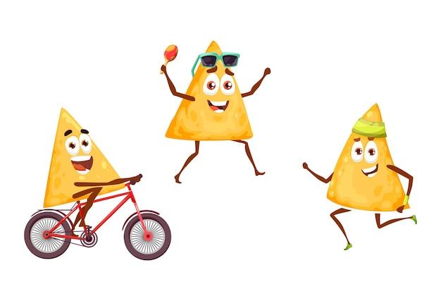 Chips de nachos mexicains sur la fête des sports et des loisirs