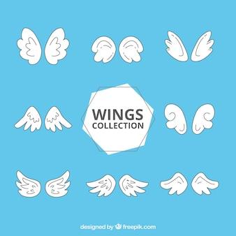 Choix de huit fantômes ailes