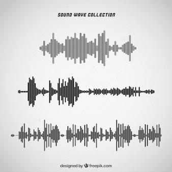Choix des ondes sonores en tons gris