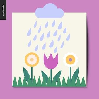 Des choses simples - des fleurs