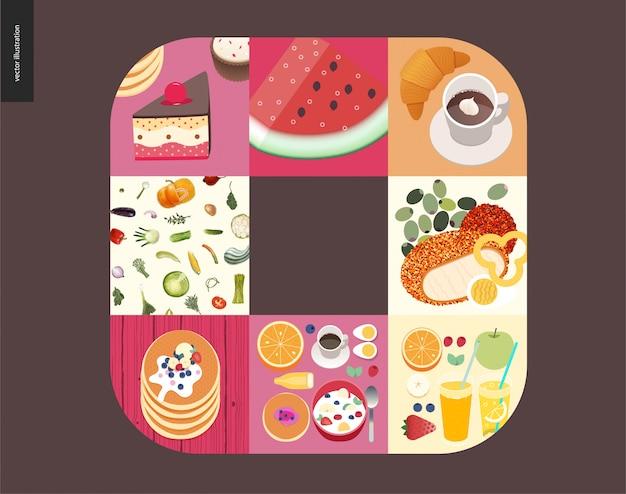 Choses simples - repas