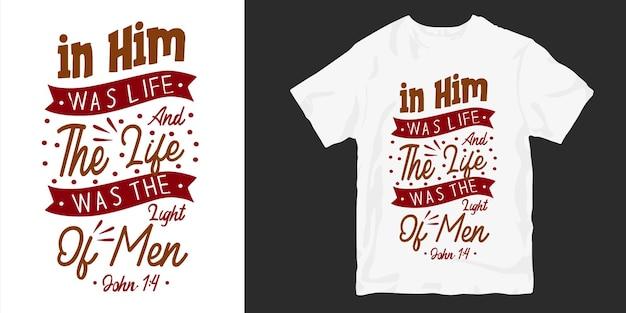 Chrétien et religion cite typographie affiche de conception de t-shirt marchandise