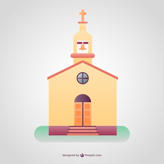Christian coloré temple fond
