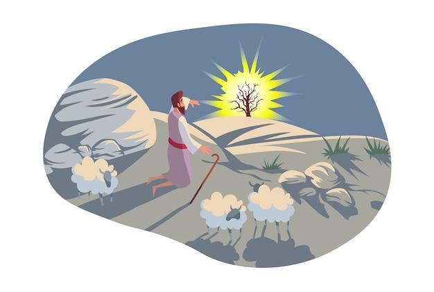 Christianisme, bible, concept de religion