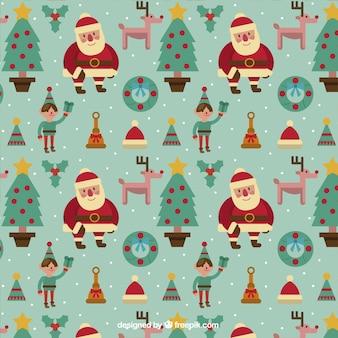 Christmas pattern belle