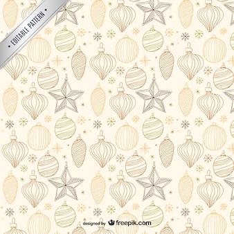 Christmas pattern vintage
