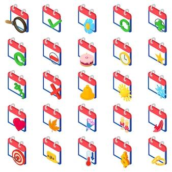 Chronologie icon set