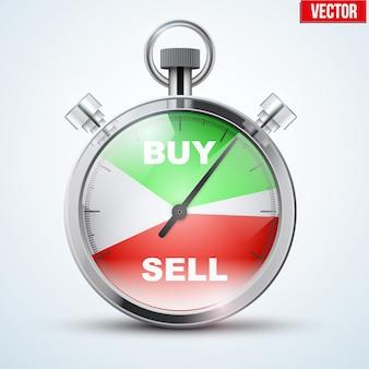 Chronomètre pour trader forex