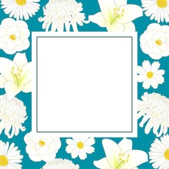 Chrysanthème blanc