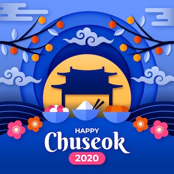 Chuseok en style papier