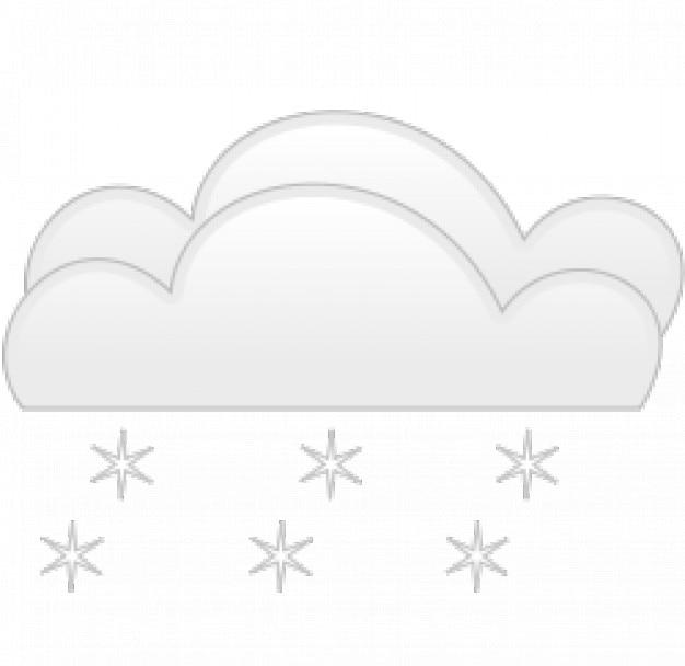 Chutes de neige obscurcir