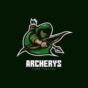 Cible de visée d'arc de flèche d'archer