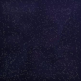 Ciel cosmique avec des nuages interstellaires
