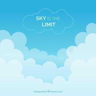 Le ciel est le fond de la limite
