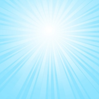 Ciel sunburst fond
