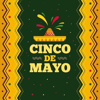 Cinco de mayo avec chapeau