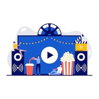 Cinéma en plein air, cinéma en plein air