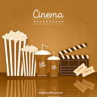 Cinéma vintage background