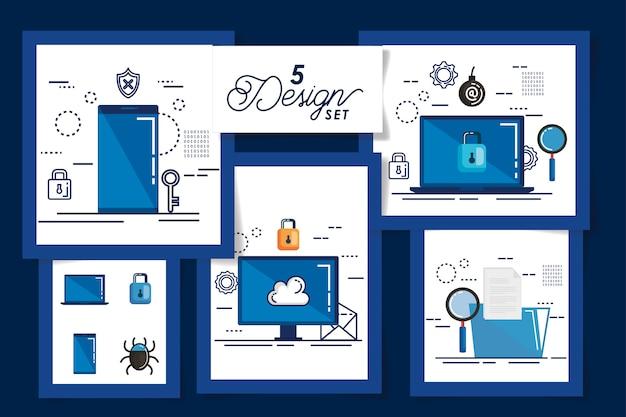 Cinq conceptions de la cybersécurité