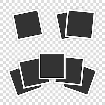 Cinq photos réalistes sont représentées en transparent.