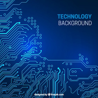 Circuit arrière-plan technologique