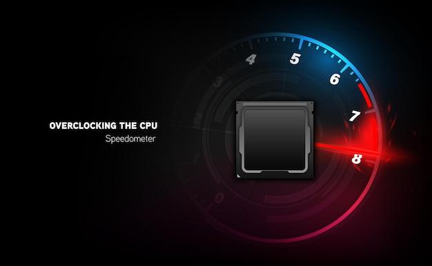 Circuit imprimé. contexte technologique. concept de processeur de processeurs d'ordinateur central. puce numérique de la carte mère. illustration vectorielle.