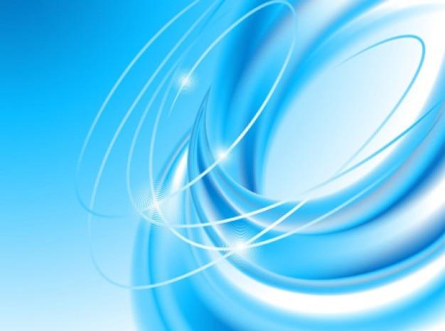 Circulaire tourbillon arrière-plan brillant ciel bleu