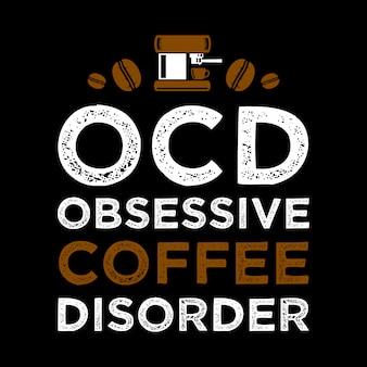 Citation de café drôle et disant.