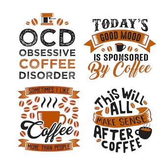 Citation de café drôle et disant