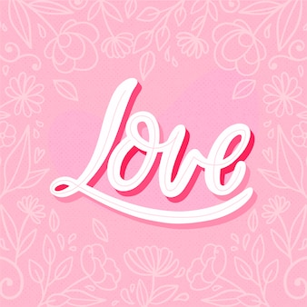 Citation avec concept d'amour