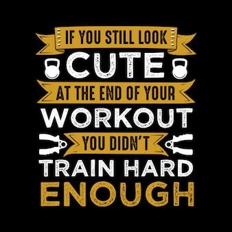 Citation de fitness et dire