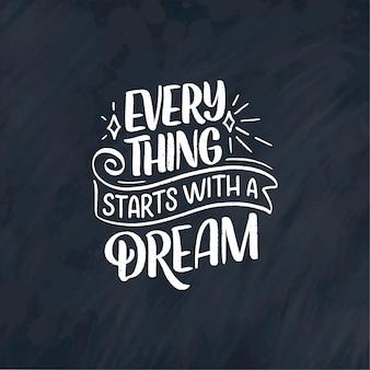 Citation inspirante sur le rêve