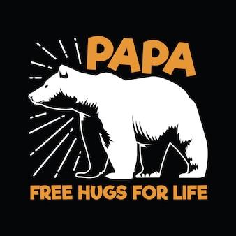 Citation de papa ours et dire