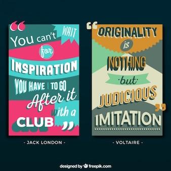 Citations créatives au sujet d'inspiration et d'originalité