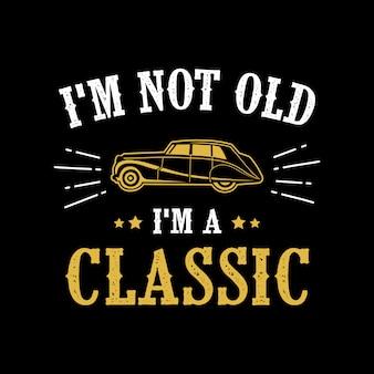 Citations de voitures classiques et dire
