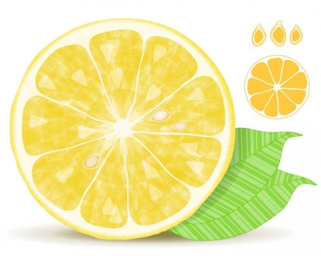 De citron frais
