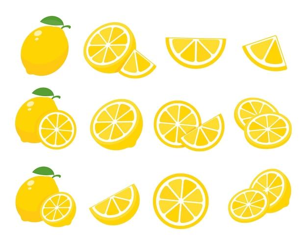 Citrons jaunes aigres.